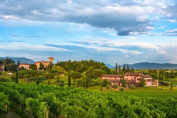 Golfhotel: Castello di Spessa Golf & Wein Resort