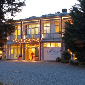 Golfhotel: Hotel Residence Eingang