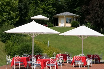Golfhotel: Terasse - Hotel Residence Starnberger See