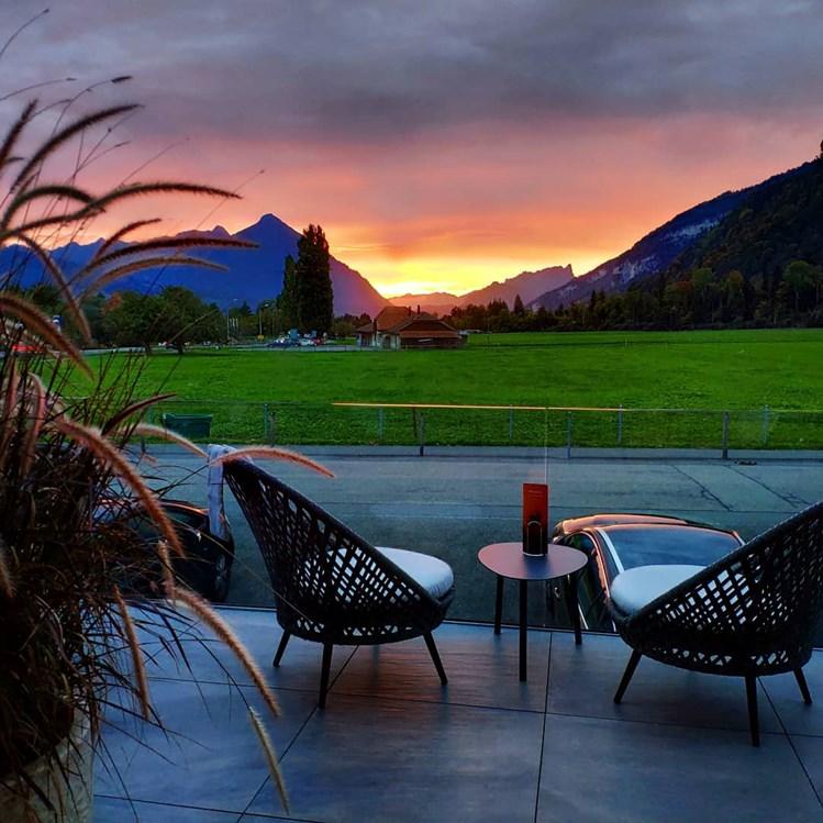 Golfhotel: Sunset-Lounge - SALZANO Hotel - Spa - Restaurant
