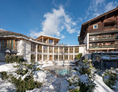 Golfhotel: Outdoorpool Winter - Ortners Eschenhof