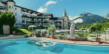 Golfurlaub - Pools: Innenpool - Posthotel Achenkirch